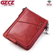 GZCZ <b>Hot Sale</b> Women Organizer Wallet <b>Genuine Leather</b> Wallets ...