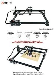 <b>ORTUR Laser Master</b> 2 <b>7W</b>/15W/20W - Laser Engraving and Cutting ...