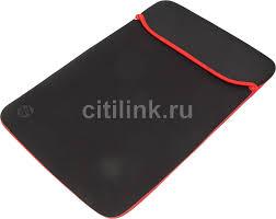 """Купить Чехол для ноутбука <b>15.6</b>"""" <b>HP</b> Chroma, черный/красный в ..."""