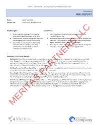 leadership assessment meritas partners assessment summary