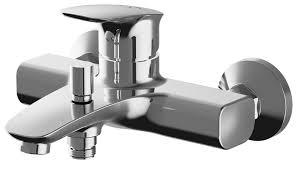 <b>Смеситель</b> для ванны с подключением <b>душа AM</b>.<b>PM</b> Spirit V2.1 ...