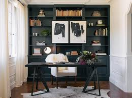elegant home office features black and white office chair elegant home