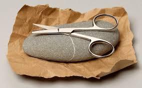 Image result for rock breaks scissors