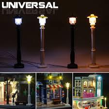 <b>Universal DIY LED</b> Light Lamp Post Lantern For Lego Street ...
