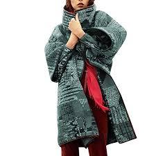 Buy Fanybin Women Plus Size Lapel Long Sleeves <b>Printing</b> ...