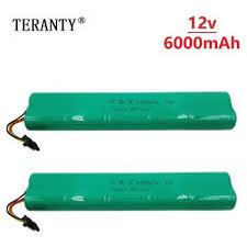 2Pcs Sweeping Machine <b>12V 6000mAh</b> Battery for Neato Botvac ...