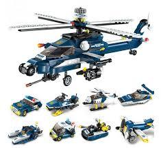 <b>Enlighten Brick</b> Полицейский вертолёт (381 деталь) - Акушерство ...