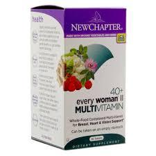 <b>40</b>+ <b>Every Woman II</b> Multivitamin | New Chapter