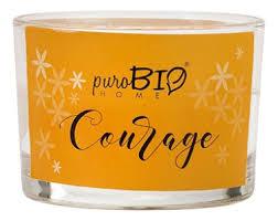<b>Ароматическая свеча</b> Courage 120г puroBIO купить, цена на ...