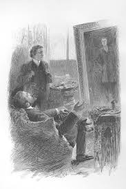the picture of dorian gray   wikipediathe painter basil hallward and the aristocrat lord henry wotton observe the picture of dorian gray