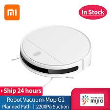Xiaomi <b>Mijia G1 Robot Vacuum</b> Cleaner 2200Pa Home Sweeping ...