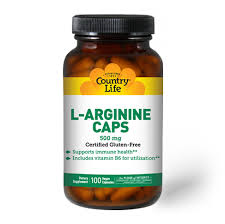 <b>L</b>-<b>Arginine 500</b> mg - Country Life Vitamins