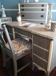chic home office dixie vintage french provincial deskvanity eclectic home office chic vintage home office