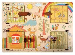 <b>Деревянные игрушки Бизиборд</b> Ферма — купить в интернет ...