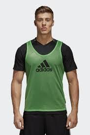 <b>Манишка</b> мужская <b>Adidas Trg</b> BIB 14, цвет: зеленый. F82135 ...