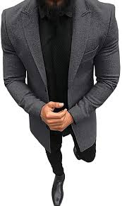 <b>Men's Blazer Slim</b> Fit Casual Solid Color Sport Coats Lightweight ...