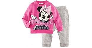 Children Disney <b>Mickey Mouse Cartoon Girls</b> Kids Clothing Pajama ...