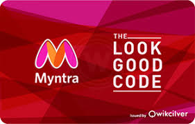 Myntra E-Gift Cards - Instant Delivery | Woohoo.in