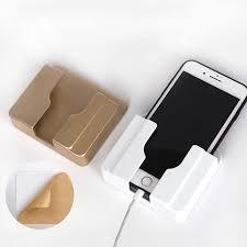 <b>1pcs Phone Holder Charging Shelf</b> Multifunction Home <b>Mobile</b> Wall ...