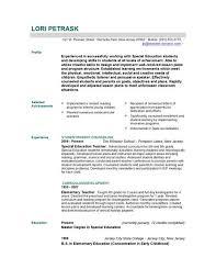 resume examples resume resume templates teachers format easy writing cool best detail lori petrask profile education resume sample