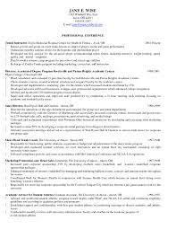 pilates instructor resume cover letter fitness and pilates jobs gallery of physical training instructor resume
