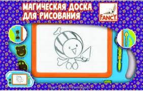 <b>Доска</b> для рисования 42х27 см <b>FANCY CREATIVE</b> FD080023 в ...
