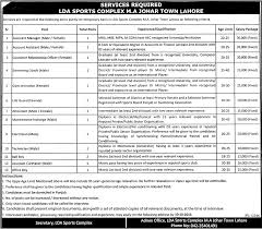 job in lahore development authority lda sports complex job job in lahore development authority lda sports complex job account assistant swimming coach