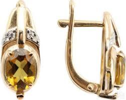 Золотые <b>серьги гранат</b> распродажа коллекции 2020 года в ...