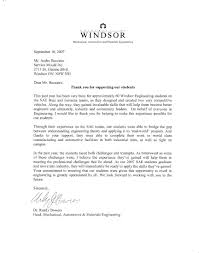 appreciation letter university of windsor appreciation letter appreciation letter university of windsor appreciation letter