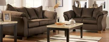 small living room chairs with elegant brown sofa with square table and table lamp cheap elegant furniture