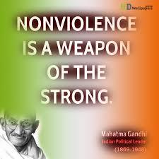 nonviolence gandhi essay   college essaysquot mega essays   nonviolence