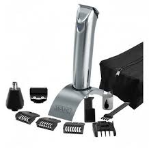 <b>Wahl Stainless Steel</b> Trimmer <b>9818-116</b> All In One Dual Voltage ...
