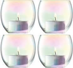 Купить <b>Набор из 4 подсвечников</b> для чайных свечей Pearl, D6.8 ...