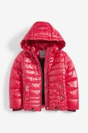 Девочки и девушки, Куртки, Красный | Next Россия