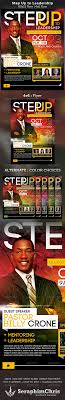 step up to leadership church flyer template startupstacks com step up to leadership church flyer template