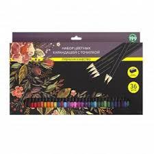<b>Набор цветных карандашей</b> с точилкой, 36 шт. Fix Price ...