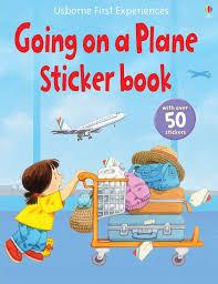 """Going on a <b>plane sticker</b> book"" at Usborne Children's Books"