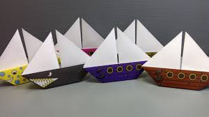 origami sailboat paper print your own pirate and shark origami sailboat paper print your own pirate and shark ships