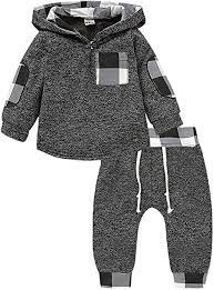 Toddler <b>Baby Boys Girls</b> Stylish Plaid Floral Pocket <b>Hooded</b> Coat ...