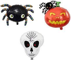Amosfun <b>Halloween Balloons Spider</b> Pumpkin Skull Shape ...