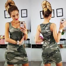 2019 New <b>Summer Fashion Women</b> Sexy Tank <b>Dress</b> Slim Casual ...
