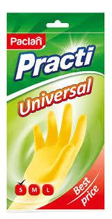 "<b>Перчатки резиновые Paclan</b> ""Practi Universal"". Размер S"