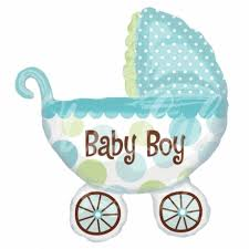 """baby boy - <b>Воздушный шар</b> на выписку новорожденного """"Коляска ..."""