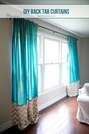 Hidden Tab Curtains Diy Back Tab Curtains I Heart Nap Time