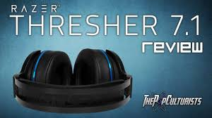<b>Razer Thresher</b> 7.1 <b>Wireless</b> Gaming Headset Review - YouTube