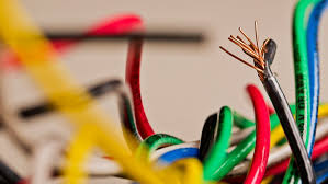 code bathroom wiring: jumble of colored electrical wires wires electrical colors  jumble of colored electrical wires