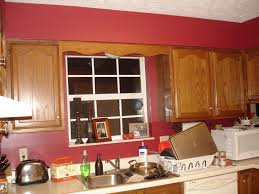 red wall paint black bed: red kitchen colors dsc  kitchen design ideas