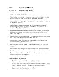 senior account manager job description account manager roles and    senior account manager job description account manager roles and responsibilities