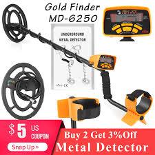 <b>MD 6250</b> Professional <b>Metal Detector</b> Handheld <b>Underground</b> Gold ...