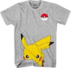 Pokemon Kids' Pokémon Boy's Cute Pikachu T-Shirt ... - Amazon.com